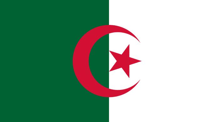 Flagge Algeriens