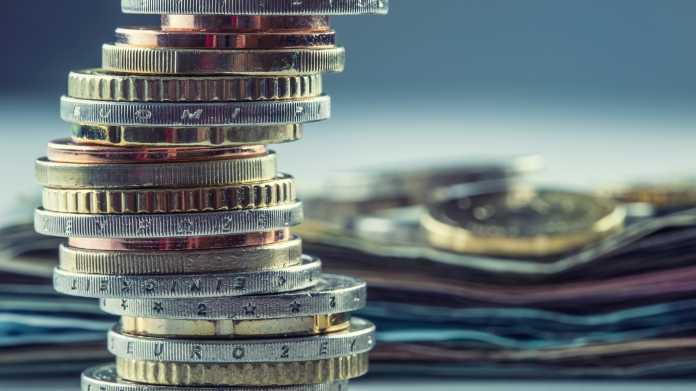 Ein Stapel Münzen