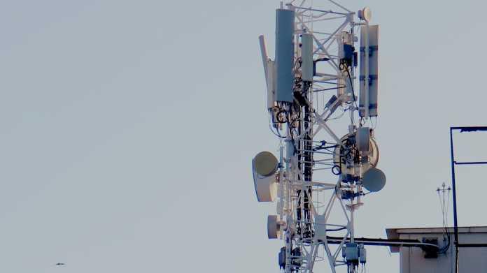 Turm mit Antennen