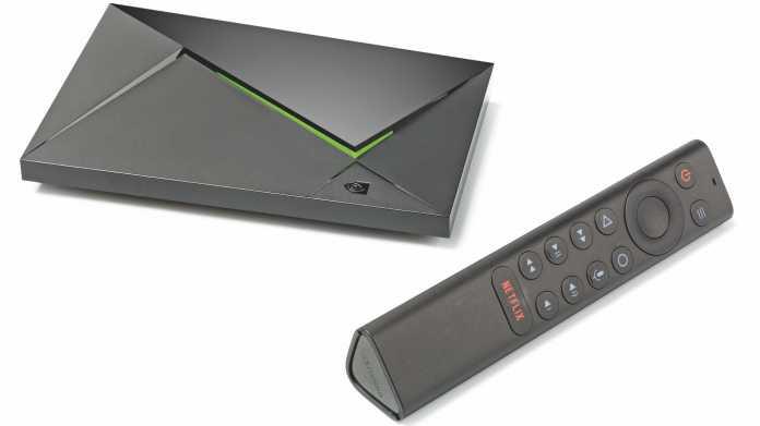 Medienplayer Shield TV Pro unterstützt Dolby Vision und beherrscht 4K-Upscaling