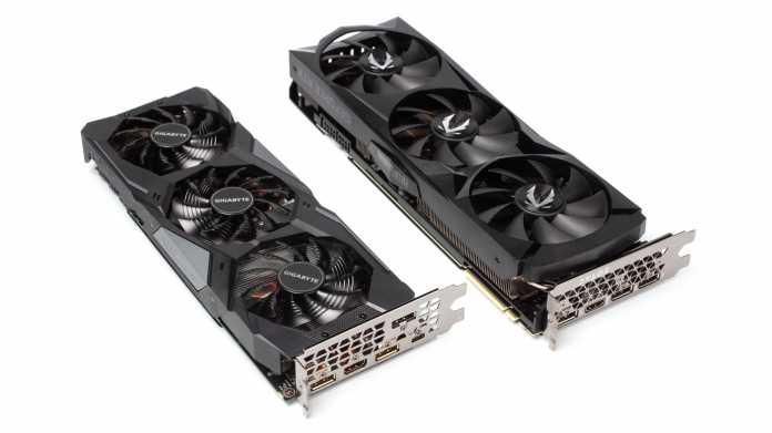 Nvidia bohrt GeForce RTX 2060 und 2070 deutlich auf