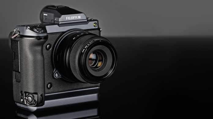 Spiegellose Mittelformatkamera mit 100 Megapixeln: Fujifilm GFX100 im Test