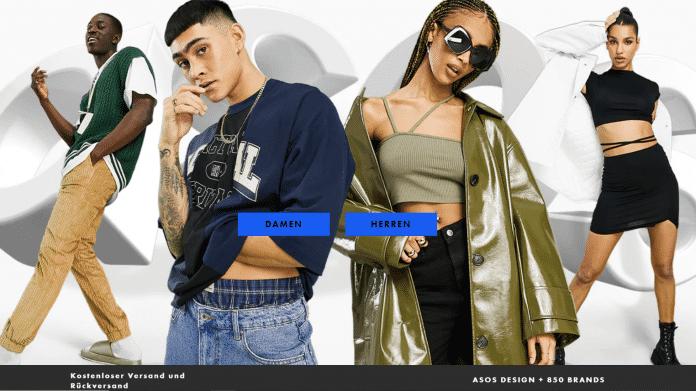 Asos Website