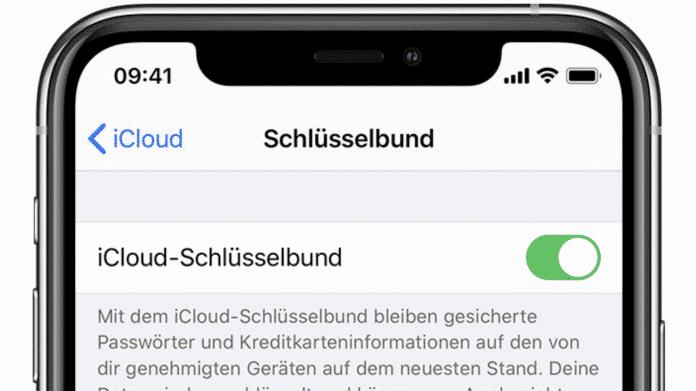 iCloud-Schlüsselbund