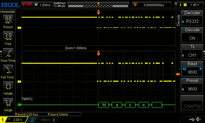 RS232 Decode an Arduino Clone