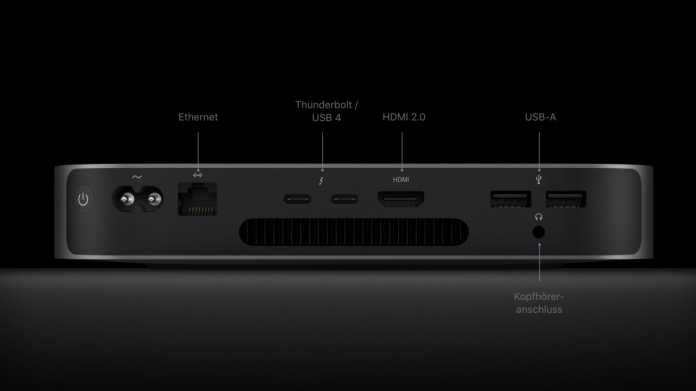 Mac mini mit M1