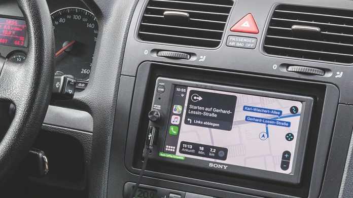 Apples CarPlay in älteren Autos nachrüsten