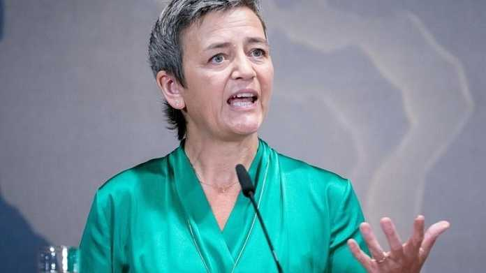 European Commission's Vice President Margrethe Vestager