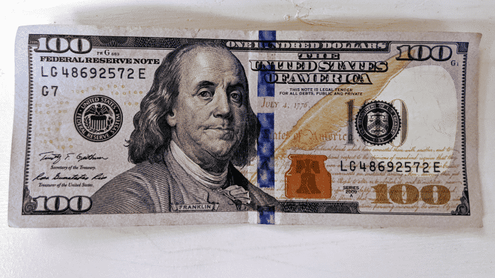Banknote 100 US-Dollar