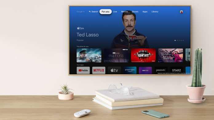 Apple TV auf Google TV