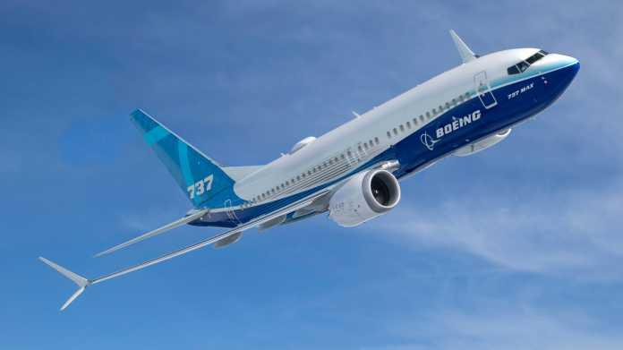 Boeing 737 MAX in der Luft