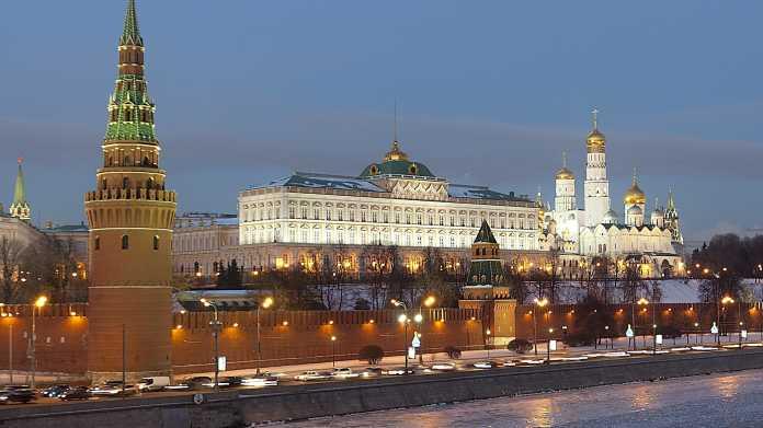 Ansicht auf Moskaus Regieurngsviertel