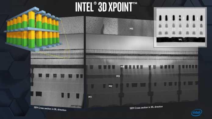 Intel arbeitet an 144-Zellen-Flash und der nächsten Optane-Generation