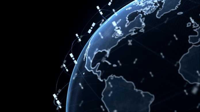Satelliten im Orbit