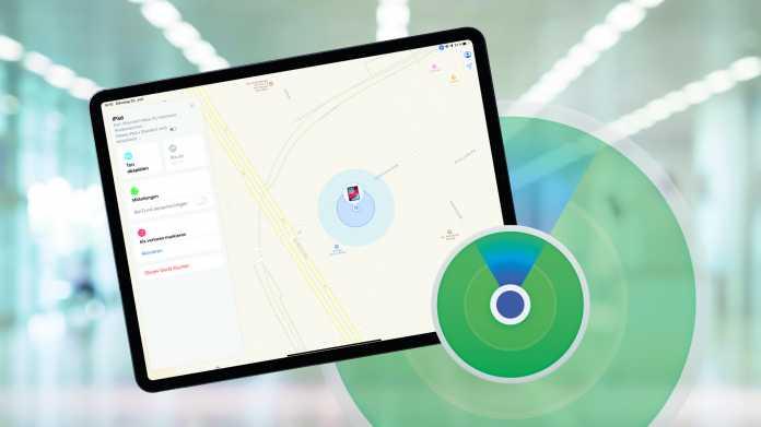 """Apples neuer """"Find my""""-Dienst: iPhone, iPad und Mac per Bluetooth orten"""