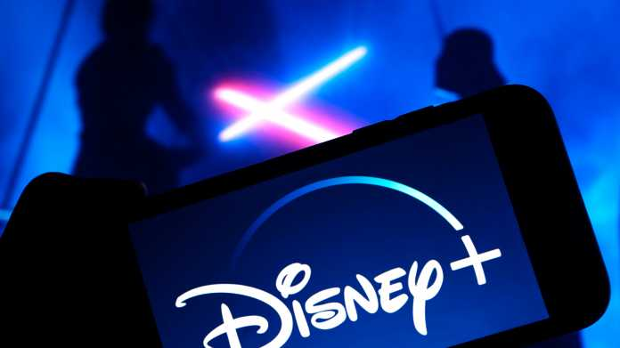 Grand,Prairie,,Tx/usa,Oct,2019:,Disney,Plus,On,Smartphone,Screen