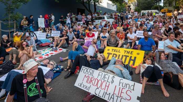 Sydney,,Nsw,,Australia,January,31,,2020:,Hundreds,Of,Climate,Activists