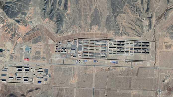 China: Kartendienst gibt Standorte von Internierungslagern preis