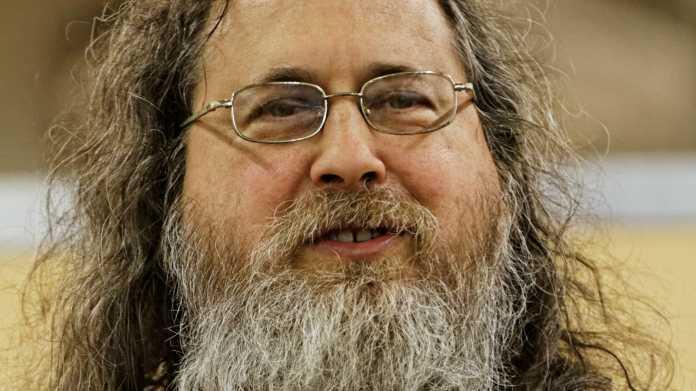 Der umstrittene GNU-Guru Richard Stallman