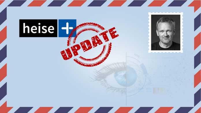 heise+ Update Briefumschlag