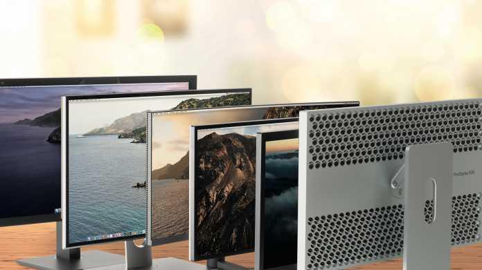 Fünf gegen 6K: Apples Pro Display XDR gegen andere Monitore