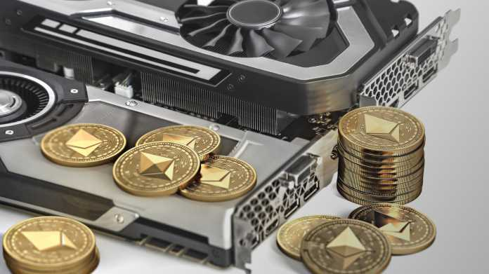 Ethereum,Mining.,Using,Powerful,Video,Cards,To,Mine,And,Earn