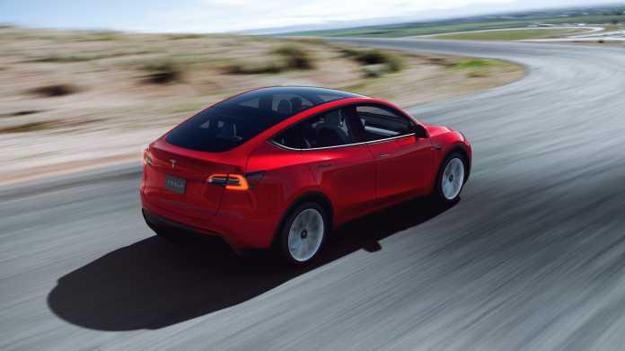 Tesla-PKW Modell Y