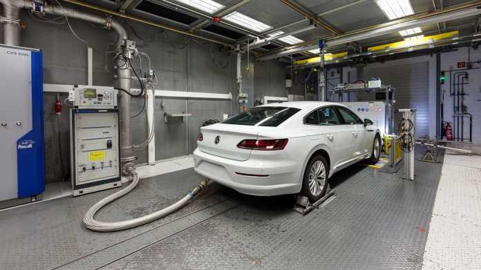 VW Arteon auf dem Prüfstand