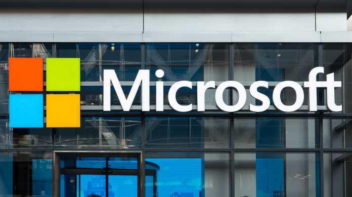 Microsoft-Schriftzug