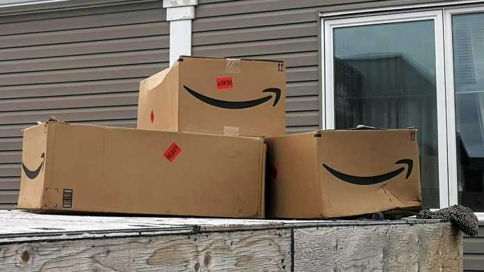 3 Amazon-Schachteln