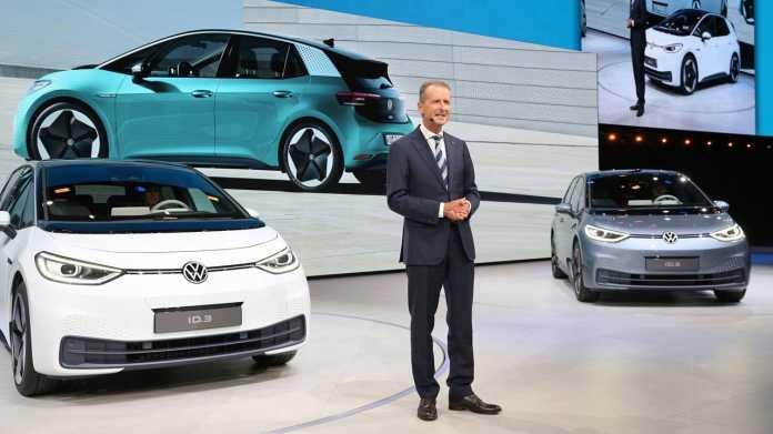 Am VW ID.3 kulminieren momentan die Probleme von Volkswagen