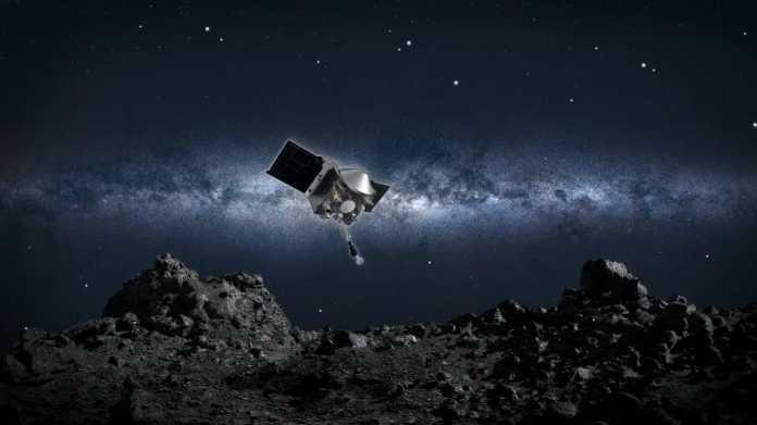 NASA-Sonde Osiris-Rex beim Asteroiden