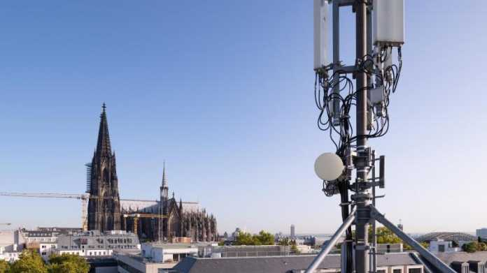 5G-Antenne in Köln