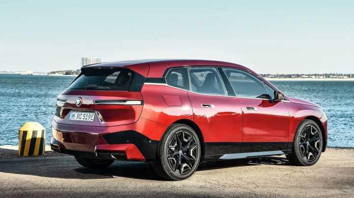 Elektroauto BMW iX