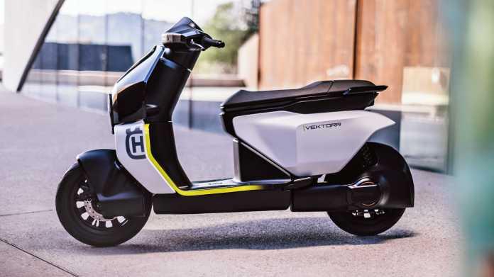 Elektro-Roller Husqvarna Vektorr Konzept