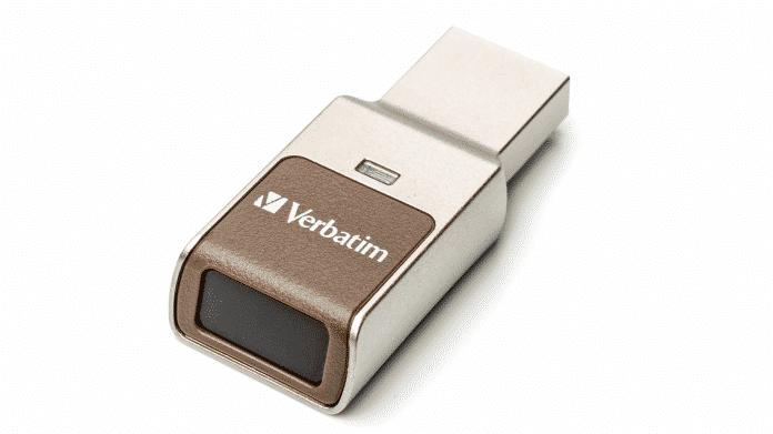 Verbatim USB-Stick Fingerabdruck
