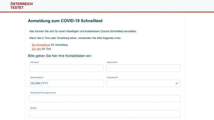 Österreich Testet Screenshot