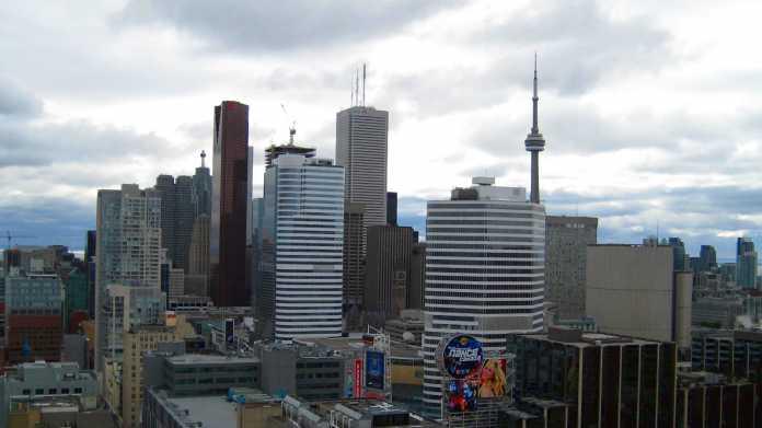 Skyline mit CN-Towert