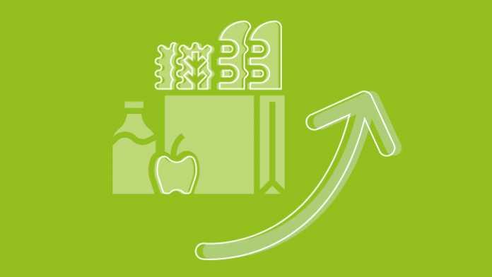 Statistik der Woche: Lebensmittel in zehn Minuten