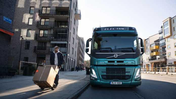 LKW mit Brennstoffzelle Werbebild
