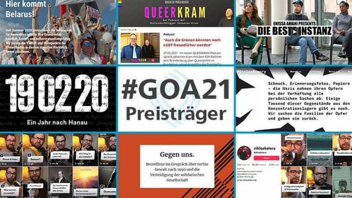 Preisträger des Grimme Online Award 2021
