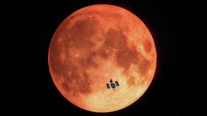 Hubble übt Suche nach außerirdischem Leben: Spur von irdischem Ozon in Mondlicht