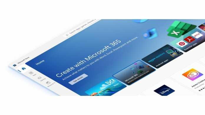 "Screenshot ""Create with Microsoft 365"""