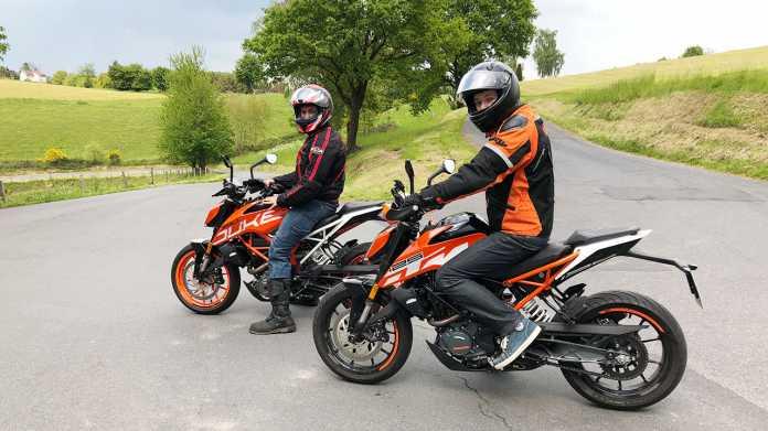 KTM 390 Duke und KTM 125 Duke