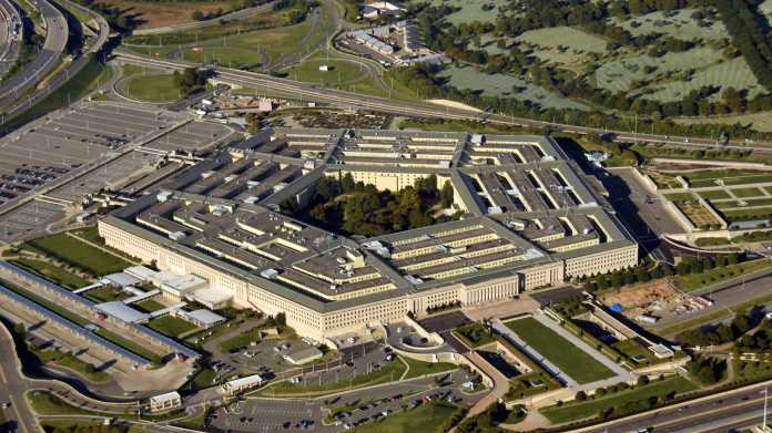 Pentagon aus der Vogelperspektive