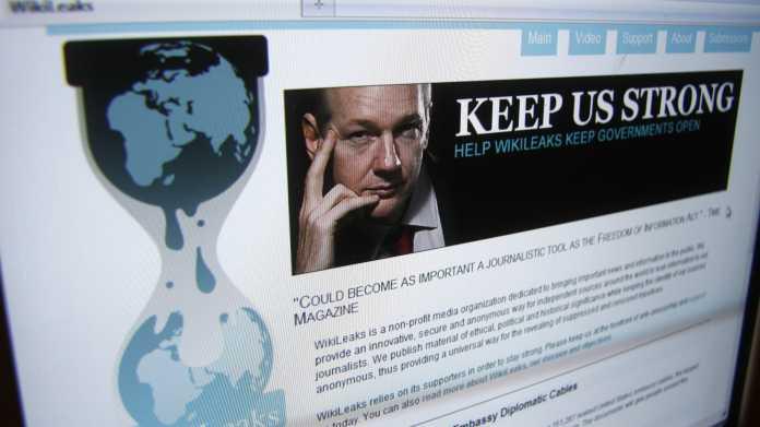 Wikileaks-Website