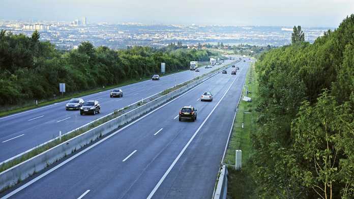 Autobahn, Zufahrt Wien