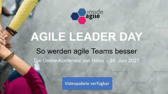 Agile Leader Day vom 24. Juni 2021 -- Videopakete verfügbar