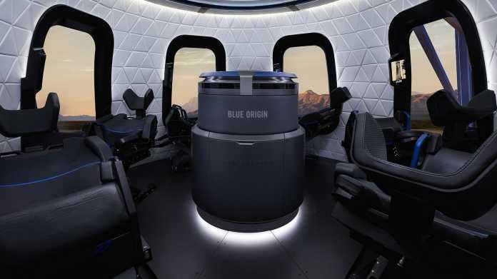 Blue Origin Kapsel