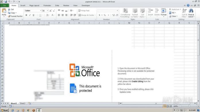 Excel Makro Screenshot